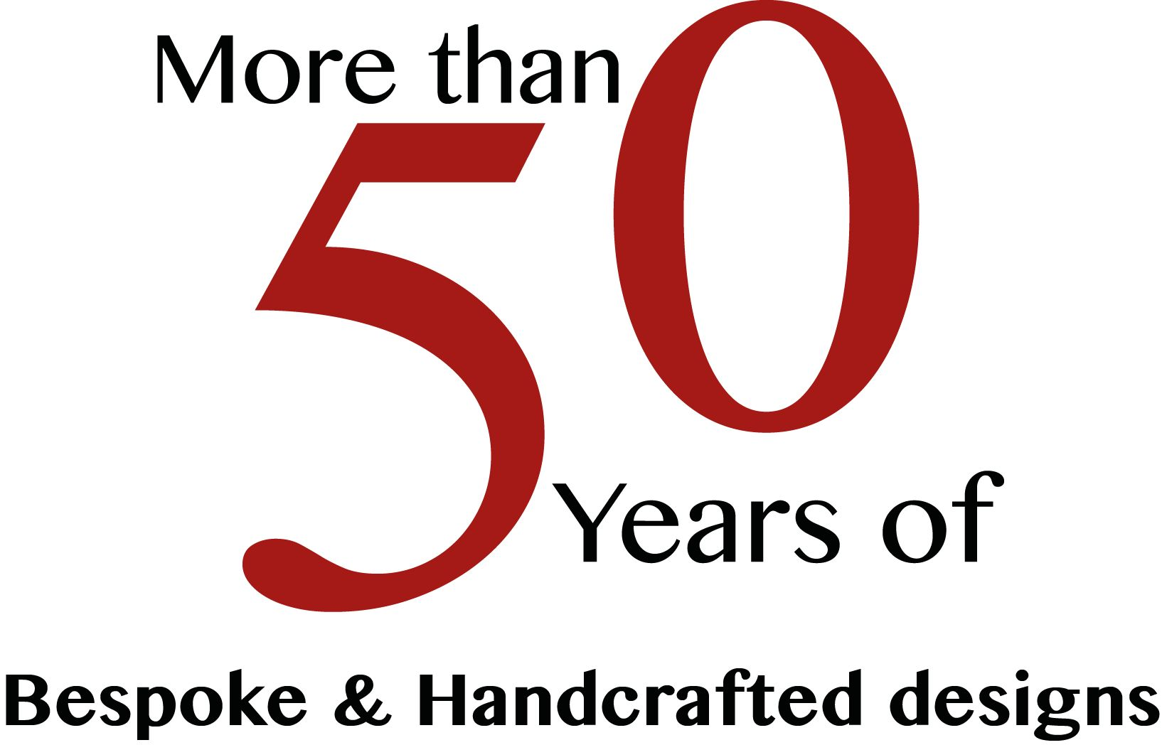 More than 50 years of bespoke & handcrafted kitchens & designs